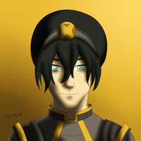 Toph Bei Fong by Morgan-Michele