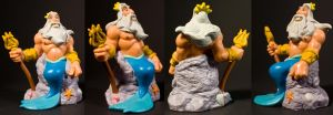 King Triton Toy by AreteStock