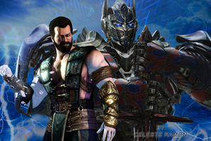 MKX and Transformers by celtakerthebest