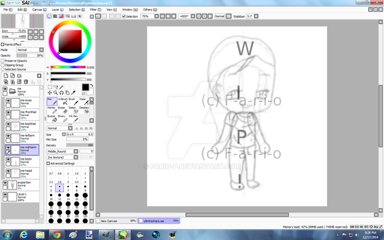 (WIP) What could this be :D ? by Fario-P
