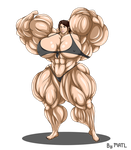 Commission - Quiet muscle growth 3 by MATL