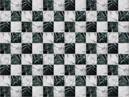 Black White Marble Texture by FantasyStock
