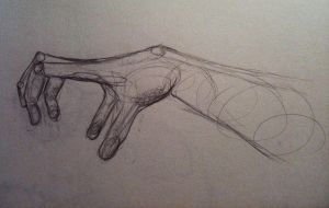Hand Sketch by thatcoldmask