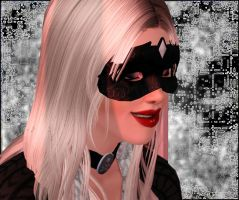 Close your eyes, all you see is me [The Black Cat] by SavvyRed