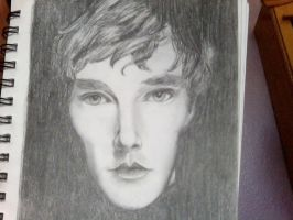 Benedict Cumberbatch by DNA-The-Authoress