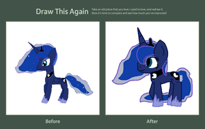 Before and After Luna by ValentinePegasus