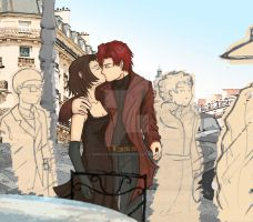Hotel De Baccano--color by MmeFrankenstein