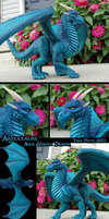 Aqua Vortex Dragon Sculpt by DragonosX
