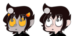 double the karkat by Mii-kami
