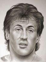 Stallone in Graphite by gregchapin