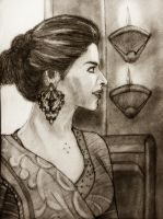 Deepika by manojart
