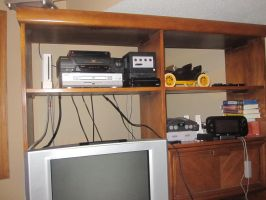 My Video Game Home Console Collection by Princess-Selia
