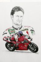 Carl Foggarty Tribute by machoart
