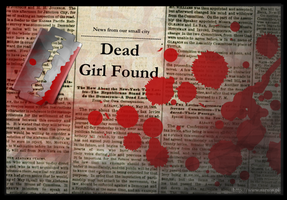 Dead Girl Found by bartoszf