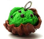mint chip waffle bowl by MotherMayIjewelry