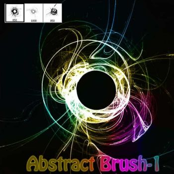 Abstract Brush-1 by designersbrush
