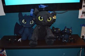 Toothless Collection by Mantyke