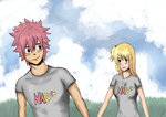 NaLu  [Lets go Lucy] by PureSims3