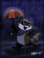 Dancing In The Rain by TheCynicalHound