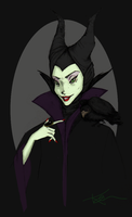Maleficent by chocolateddy