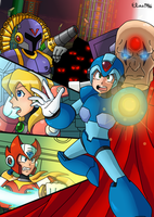 .:Rockman X:. by SpideyHog