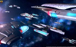 Escorts of the Federation 1 by Euderion