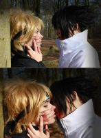 NaruSasu - KISS by ShadowFox-Cosplay
