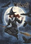 Witchcraft Chase Card Art by Athina Konstantinidou by Pernastudios