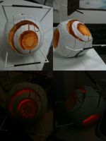 Space Core Pumpkin by RocketGirluvsUkitake