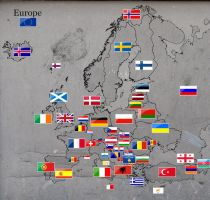 Stamped Europe by ChR1sAlbo