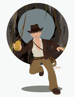 Indiana Jones by JackAbsinth