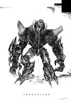 Insecticon :  MGS by xshiraminex