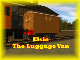 Elsie The Luggage Van V2 Release by WarshipNo10