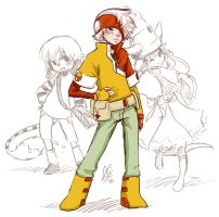 Pokemon Trainer by Aogami