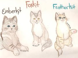 Ember Fox and Feather REQUEST by Xx-Ann-xX