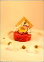 Tartare of beef : My style by Tomazz