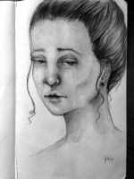 Portrait Study (The crier) by artistkitty88