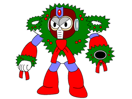 Wreath Man by Gamekirby