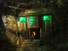 Hidden Temple speedpaint by Tryingtofly
