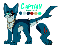 captain more like...cap.....tain.. by catdoq