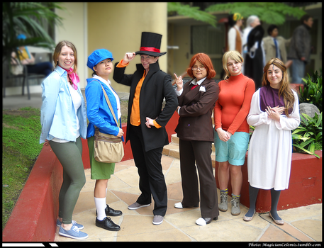 ALA 2014: Professor Layton and the Azran Legacy by WannabeMagical