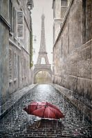 Lost in Paris by ivanpiliartist