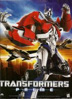My Transformers Prime Poster! by staryeyed1961