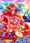 + Gift + Princess of Milotic + by AngedeCristal