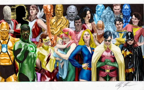 Alex Ross in Color by juantastic