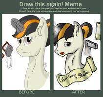 Draw this again meme by Breeoche