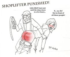 Shoplifter Punished! by AnkaSP