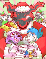 Slightly Damned Christmas 2015 by raizy