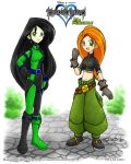 KPxKH: Kim and Shego by rinacat