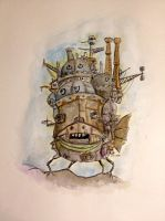 Howls moving castle by AinoJulia
